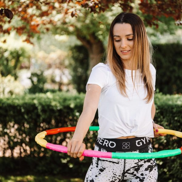 Weighted Hula Hoop: Lose Weight and Have Fun While You're At It