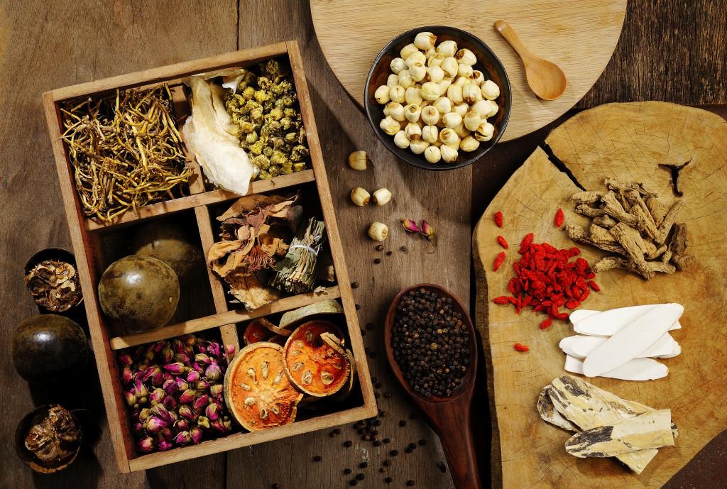 herbs used in herbal medicine