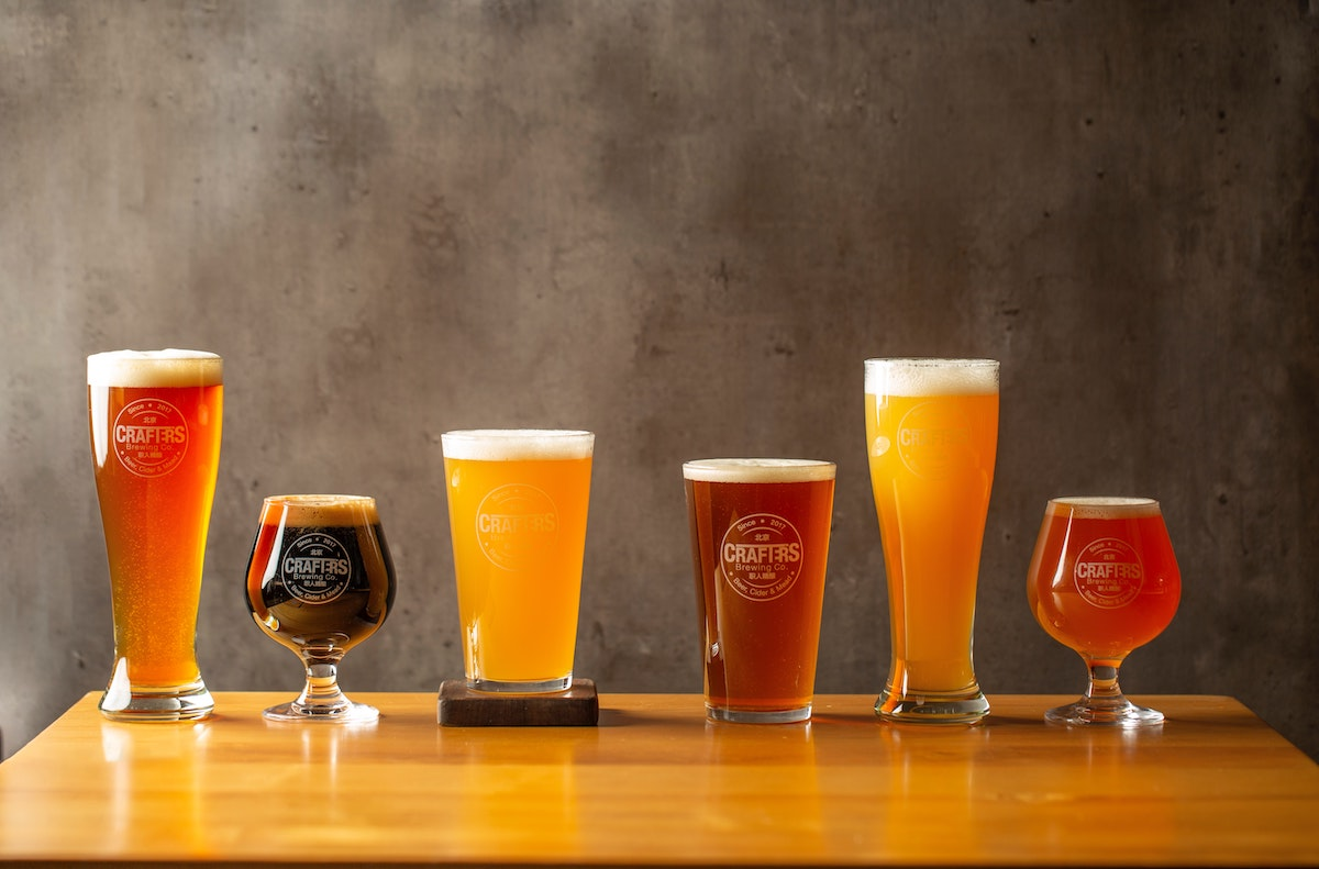 different kinds of beers